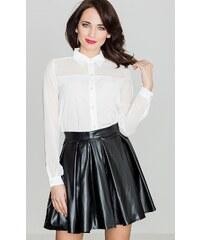 be3872a255ff LENITIF Dámska čierna sukňa K069