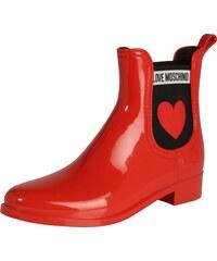 a4601a1f22 Love Moschino Gumáky  RAIN PLAIN  červené