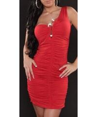 fa8d05318f40 Strikingstyle Šaty so štrasovou sponou   červené