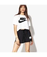 85aa5d8e0de Nike Tričko Ss W Nsw Essntl Top Crop Ss ženy Oblečení Trička AA3144-100 Bílá