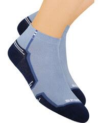 Pánské kotníkové ponožky vzorované 054 18 Steven 324674b246