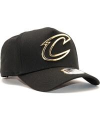 608d8c52690 Kšiltovka New Era A Frame Metal Badge Cleveland Cavaliers 9FORTY Black Gold  Snapback