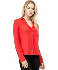 Červené dámské halenky a košile  10a5d59615