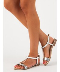 c328aa9e8cb4 Biele Dámske sandále z obchodu MojeBoty.sk