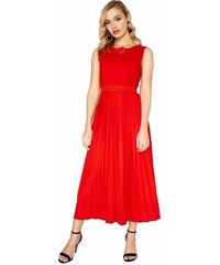 7ae1add89598 LITTLE MISTRESS Šaty se skládanou sukní a jemnou aplikací