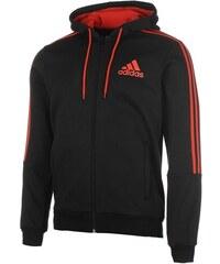 c1f444f4cd2 Pánská mikina adidas 3 Stripes Černo Červená