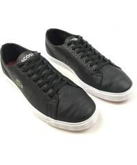 1c87f44e307 Pánské kožené boty Lacoste Riberac Černé