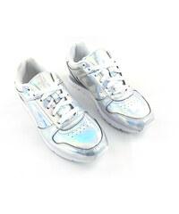 823c3ab7f5d0 Dámské boty Slazenger Retro Stříbrné