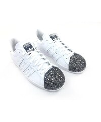 Dámské boty adidas Originals Superstar Metal Toe Bílé 02ab1b65e1