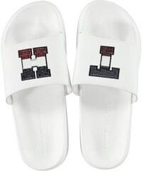 Dámské pantofle Tommy Hilfiger Pool Sliders Bílé 3feed14c0b