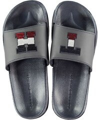 Dámské pantofle Tommy Hilfiger Pool Sliders Modré e2ba539a79