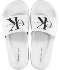 dfa2d744e79 Dámské pantofle Calvin Klein Chantal Whiter