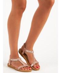 b56355af69b4 Ružové Dámske sandále z obchodu MojeBoty.sk - Glami.sk