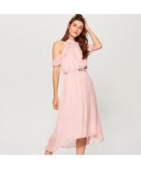 13988542abe Mohito - Šaty s odhalenými rameny - Růžová