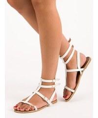 bfe054b6e627 Sandále gladiátorky so strapcami Vices 3016-17C. Veľkosť len EU 40. Detail  produktu · Biele sandále Vices 1199-41W