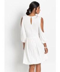 5ea01e49331a bonprix Žerzejové šaty s krajkovým detailem