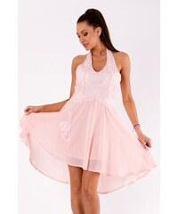 EMAMODA Dámské letní společenské šaty Emamoda Summer růžové - růžová 0bd0623303