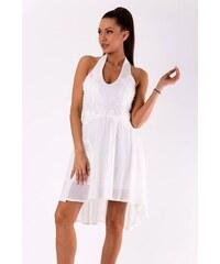 EMAMODA Dámské letní společenské šaty Emamoda Summer bílé - bílá a8bfb235302