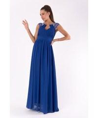 2b8e0c95dda PINK BOOM Dámské společenské večerní šaty PINK BOOM modré - COBALT