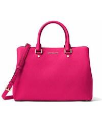 Kabelka Michael Kors Savannah large satchel ultra pink b893f9f4845