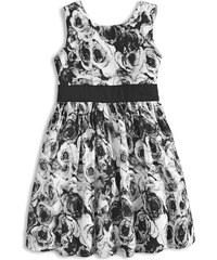e2df9251da2c Dievčenské letné šaty MINOTI MIX čierne