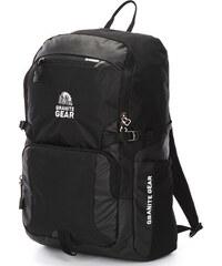 Vodě odolný černý cestovní a školní batoh - Granite Gear 7055 černá 5f904bc800