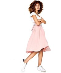 LITTLE MISTRESS Krásná skládaná sukně s mašlí f31441a394