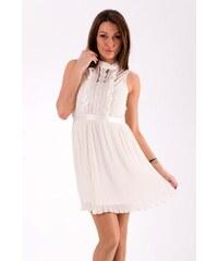 Lily McBee Dámské letní šaty Lily McBee smetanové - krémová 79e1a218f8