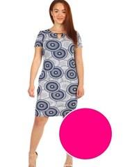 6320fe540cee Glara Dámske šaty s krátkym rukávom