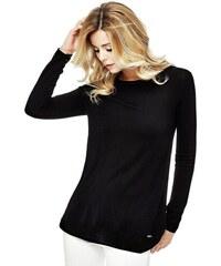 Guess Dámský svetr Laine Logo Pullover Sweater Wine - Glami.cz 3a5801283d