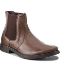fb830612 Kotníková obuv s elastickým prvkom GEOX - U Blaxe B U7482B 000CL C6027 Ebony
