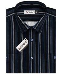 Manšestrová pánská košile AMJ Greed SDM 350 tm.modrá 5abf800ae3