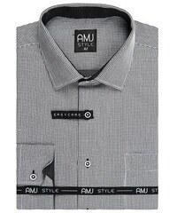 4ea964e363be Trendy pánské košile AMJ Style Slim VDSR 940 černobílá
