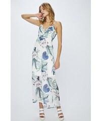 LASCANA Dlouhé šaty s dekorativním spirálám na ramínkách bílá-pestrá ... e2324f0b87