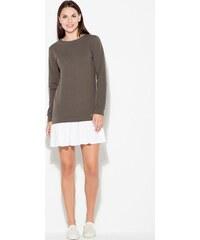 KATRUS Spoločenské šaty na ramienka K395 Mint - Glami.sk 5168fd4d7cf