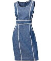 0a6c41b9c5bb Ashley Brooke Džínsové púzdrové šaty