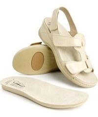Batz dámske zdravotné sandále Irina Beige 37 d3dd5f7c5b8