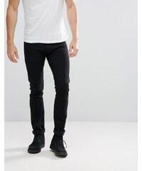 c076c8ac40f Lee Jeans Luke Skinny Fit Jeans in Black Rinse - Black