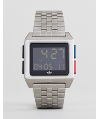 Adidas Z01 Archive digital bracelet watch in silver - Silver 2b5ed7a2bc
