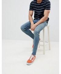 b0e84cd8964 Cheap Monday Him Spray Super Skinny Jeans Blue Stain - Blue stain