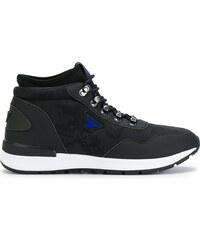 Armani Jeans lace-up hi-top sneakers - Black fe28984478