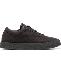 a90e53c17acdc Yeezy graphite Crepe suede canvas flat sneakers - Grey