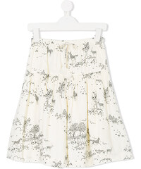 37b011045 Simple Kids floral print skirt - Neutrals