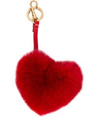Anya Hindmarch heart bag key ring - Red 0f321670bb
