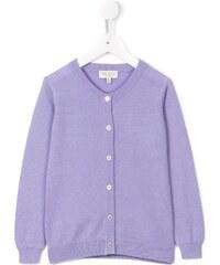 db448b4f65c2 Cashmirino Round neck cardigan - Purple