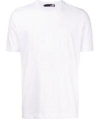 Love Moschino logo embossed T-shirt - White 8a537b2e8b5