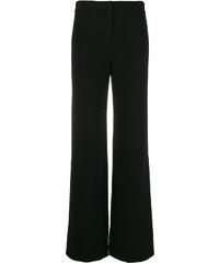 Theory side slit flared trousers - Black 9baab17532