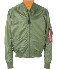 Alpha Industries arm pocket bomber jacket - Green 1ace56aeb6