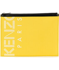 7d82cae17a5 Kenzo Kenzo Sport A4 Pouch bag - Yellow