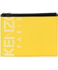 Kenzo Kenzo Sport A4 Pouch bag - Yellow b27b9076f0